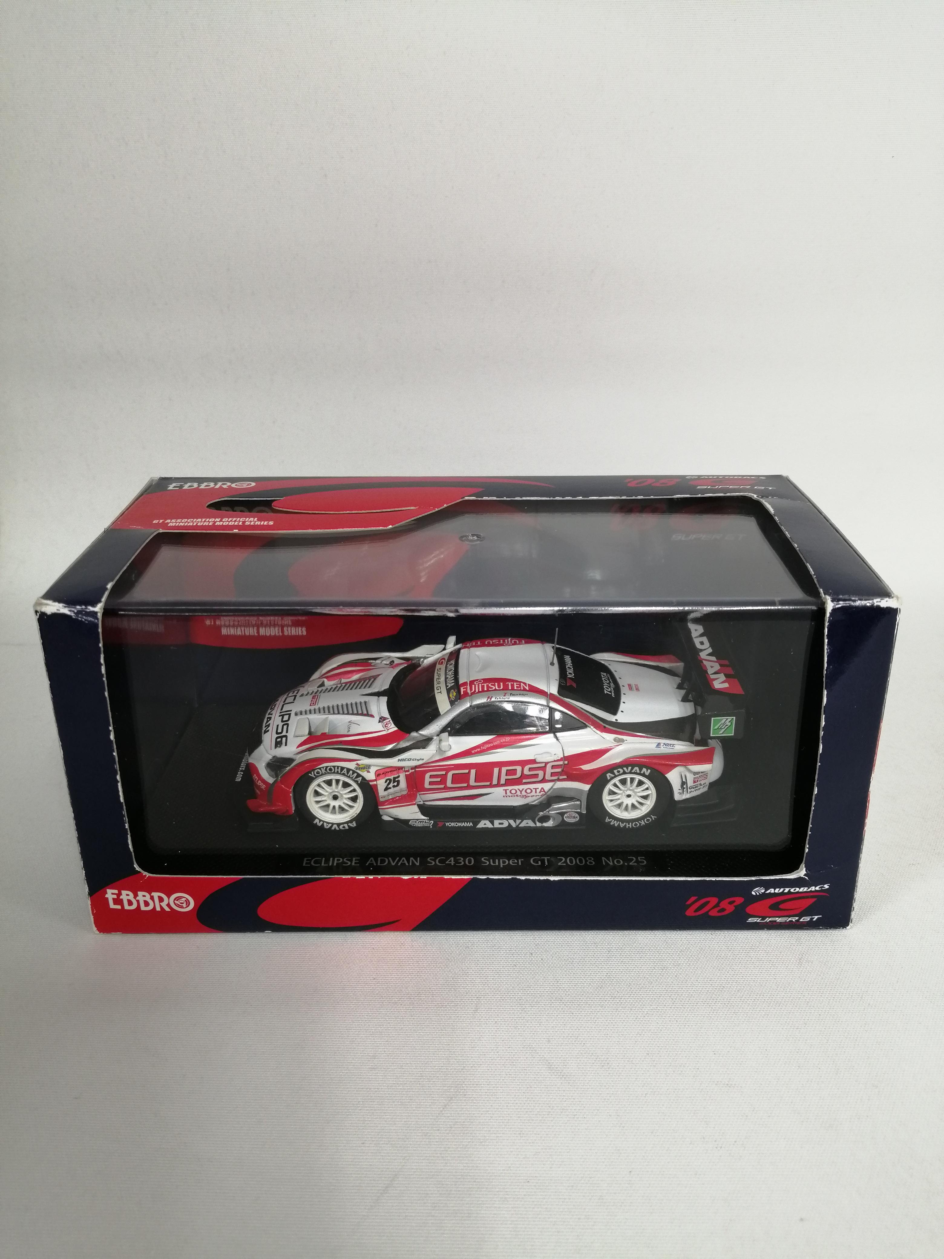 1/43ECLIPSE ADVAN SC430 GT2008|EBBRO