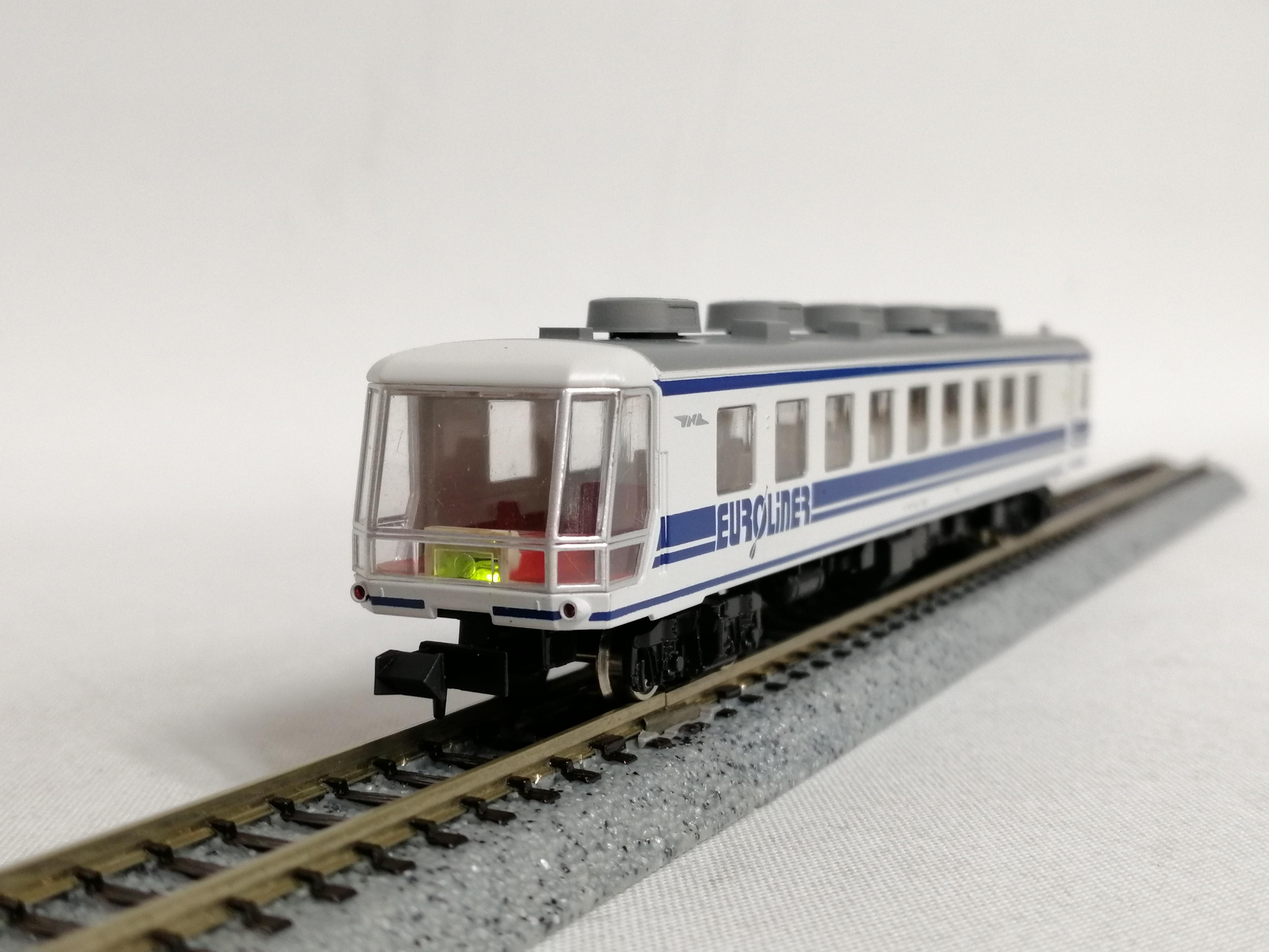 Nゲージ 国鉄12系700番台 ユーロライナー TOMIX