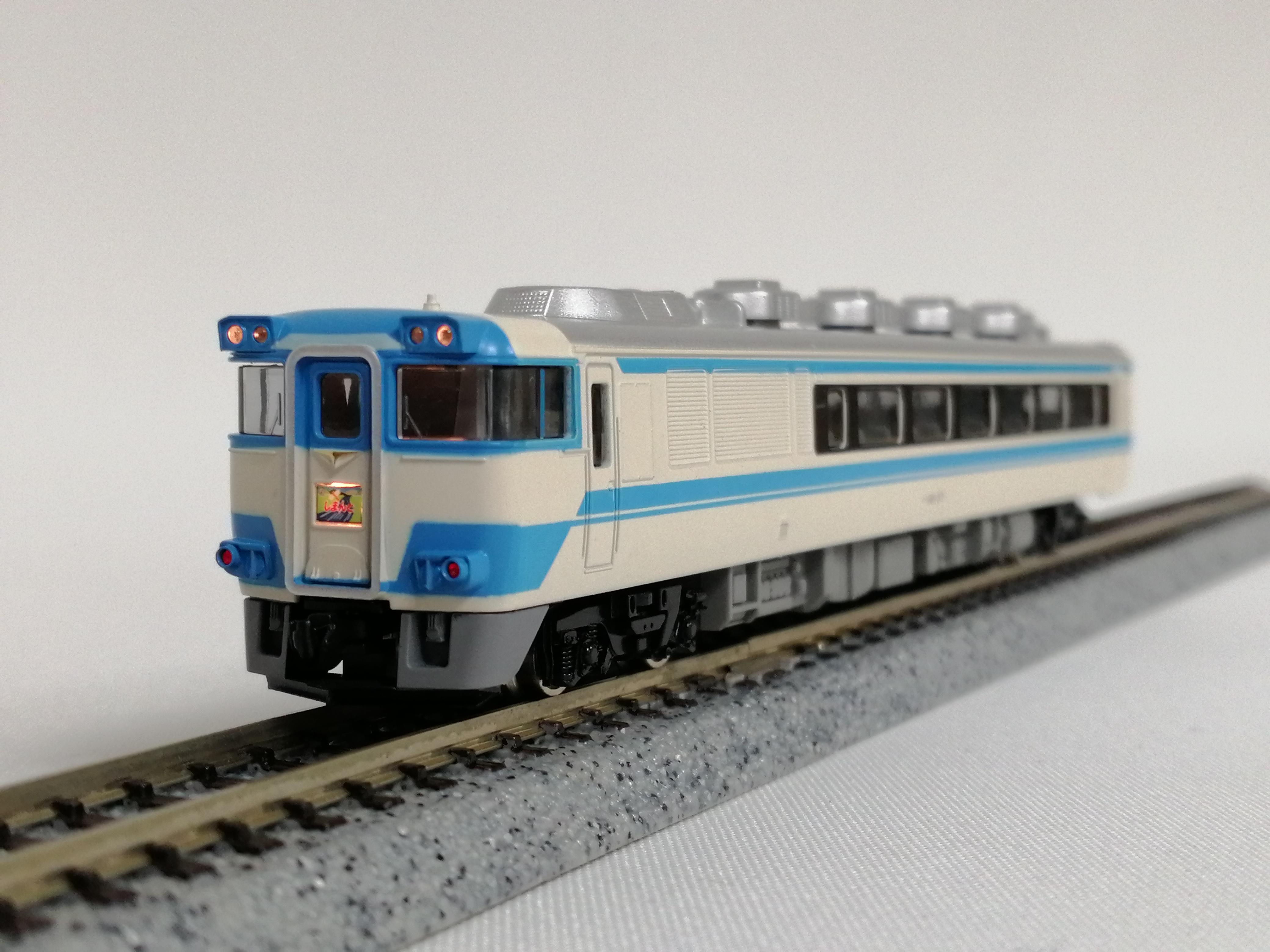 Nゲージ JR181系特急ディーゼルカー 四国色|TOMIX