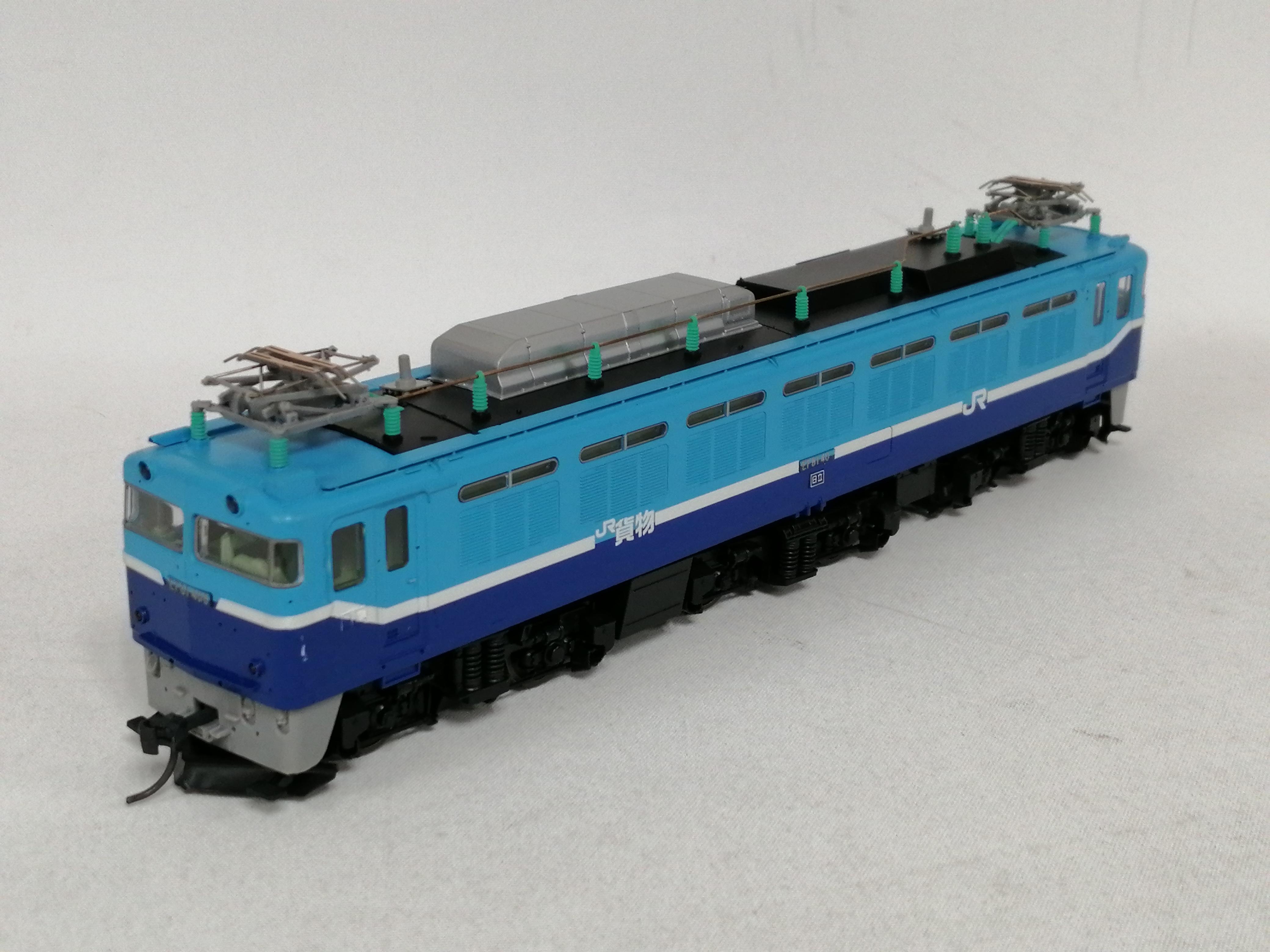 JR EF81電気機関車 貨物試験色|TOMIX