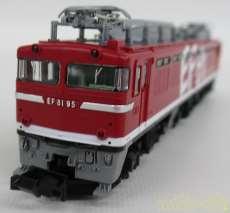 JR EF81形 95号機 レインボー塗装