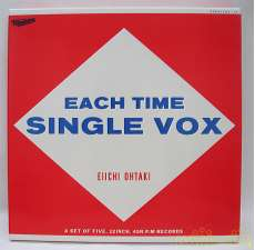 大滝詠一/EACH TIME SINGLE VOX|CBS SONY