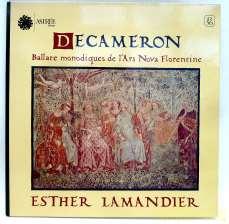 ESTHER LAMANDIER / DECAMERON|ASTRÉE