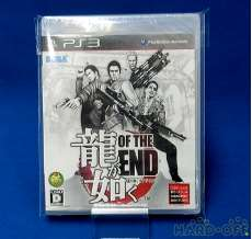 PS3ソフト 龍が如く OF THE END 未開封品