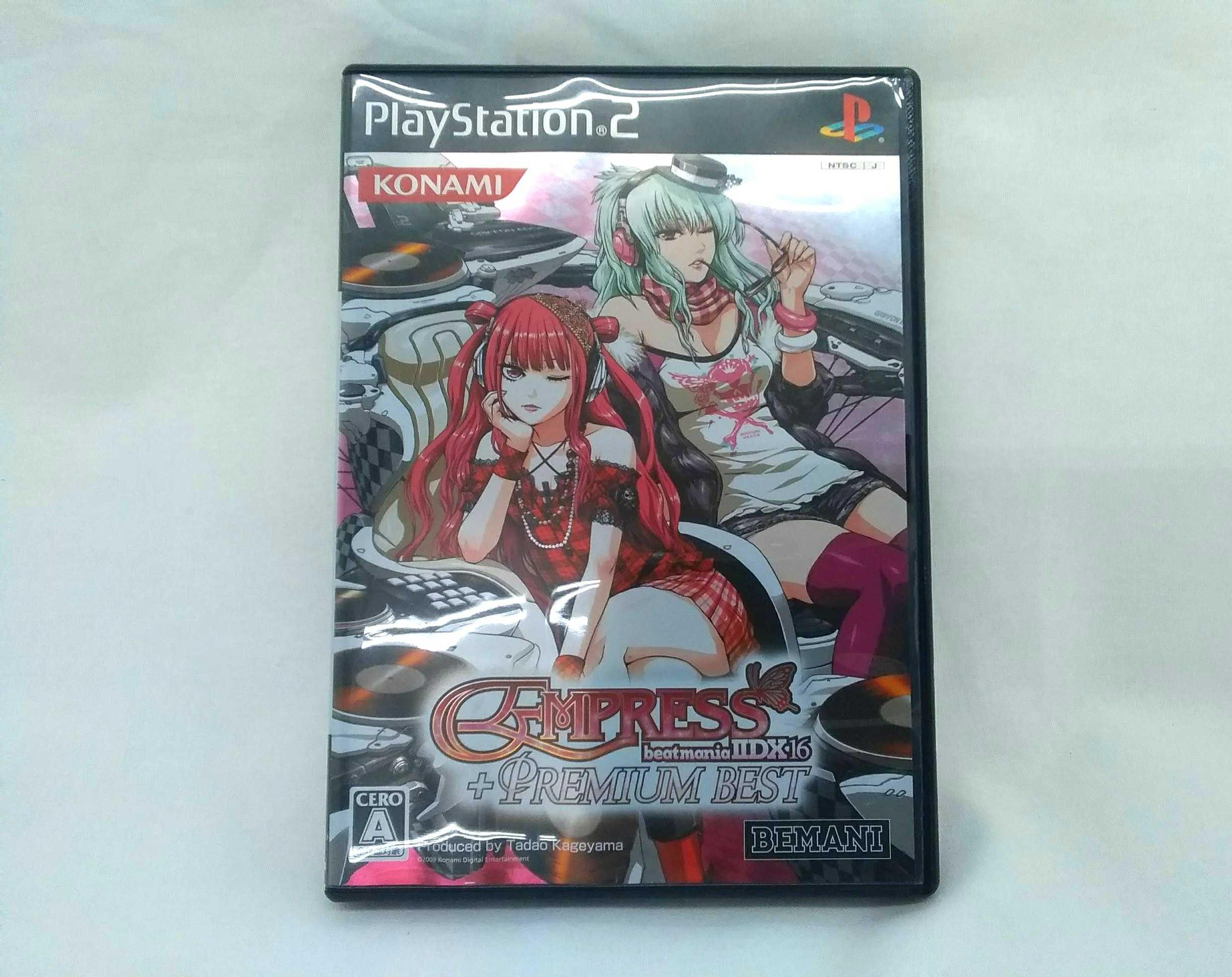 PS2ソフト ビートマニアIIDX 16|KONAMI