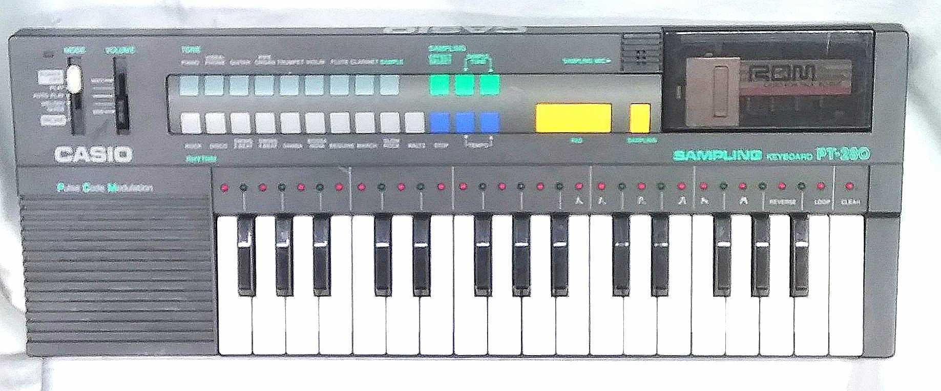 サンプリングキーボード PT-280|CASIO