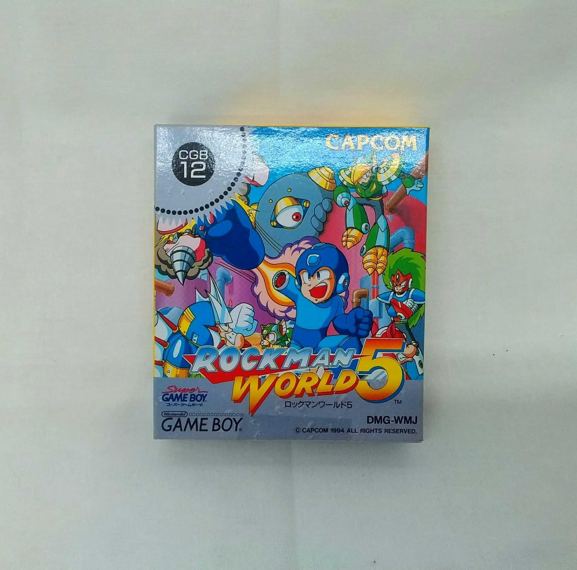ゲームボーイソフト ロックマンワールド5|CAPCOM