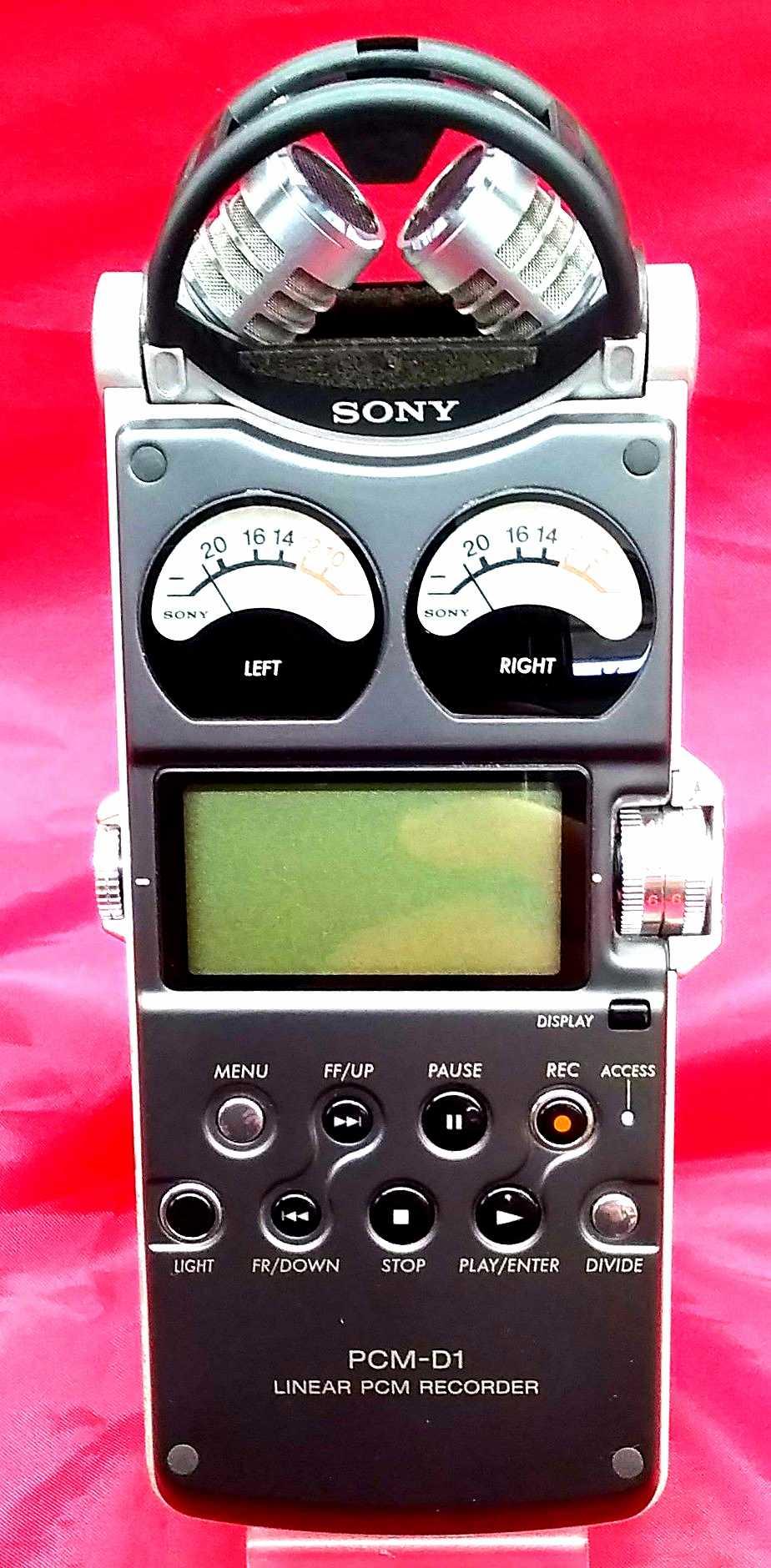 ソニアPCMレコーダー|SONY