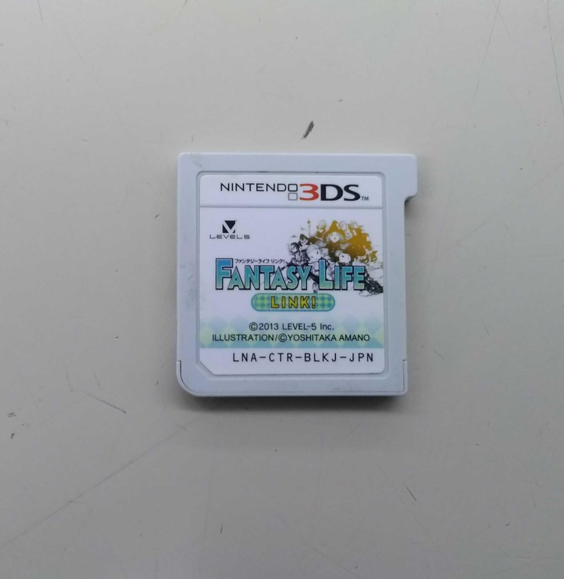 3DSソフト FANTASYLIFE LINK (本体のみ)|LEVEL5