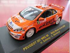 peugeot 307 wrc #8 rally monte carlo 2006 IXO