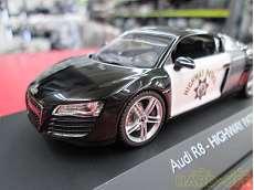1/43 Audi R8 HIGHWAY PATROL シュコー