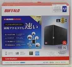 ネットワークハードディスク 4TB|BUFFALO