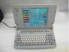 【通電確認済】SHARP シャープ WD-CP1 カラー液晶ワープロ 書院|SHARP
