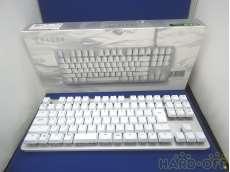 ゲーミングキーボード 日本語配列・ホワイト RAZER
