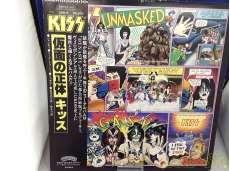 キッス / 仮面の正体 レコード 国内盤帯付き 