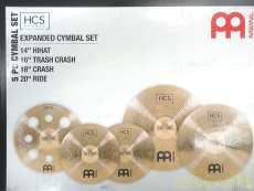 未使用品 HCS BRONZE シンバルセット|MEINL