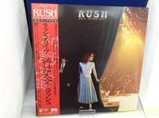 """RUSH """"EXIT...STAGE LEFT"""" ラッシュ・ライブ 神話大全 帯付き