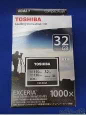 未使用 CF コンパクトフラッシュカード EXCERIA 1000|TOSHIBA