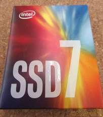 内蔵SSD 256GB M2 (INTEL SSD7)|INTEL