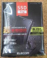 【未使用】外付けSSD 1TB|ELECOM