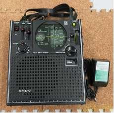 ポータブルラジオ(ジャンク品) SONY