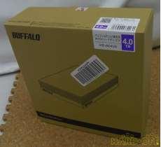 未開封 4TB HDD|BUFFALO