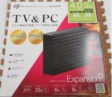 外付けHDD 4.0TB|ELECOM