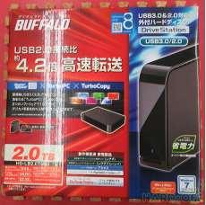 【未使用】USB3.0/2.0接続外付けHDD (2.0TB)|BUFFALO