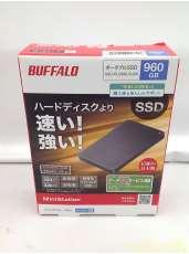 【未使用】外付けSSD960GB|BUFFALO