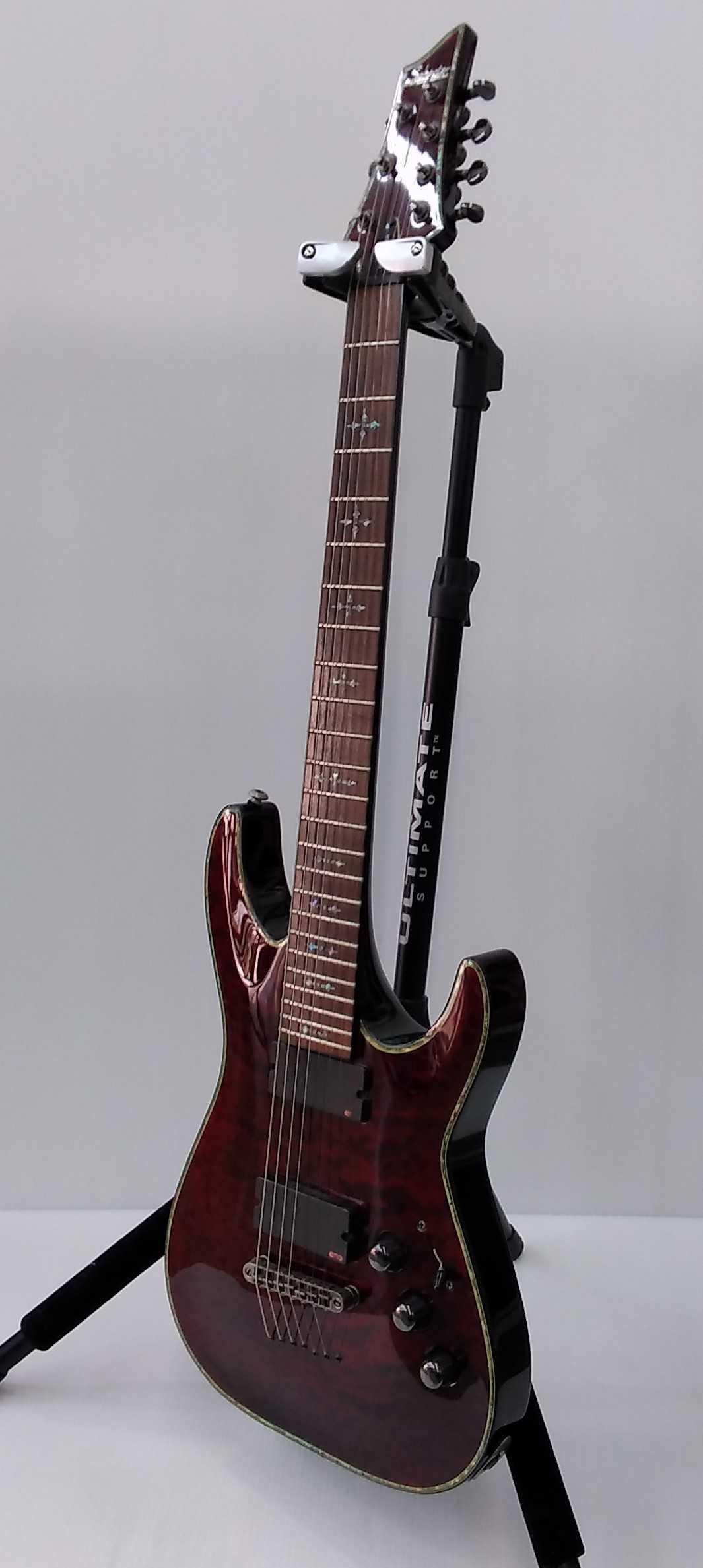 エレキギター(7弦) SCHECTER