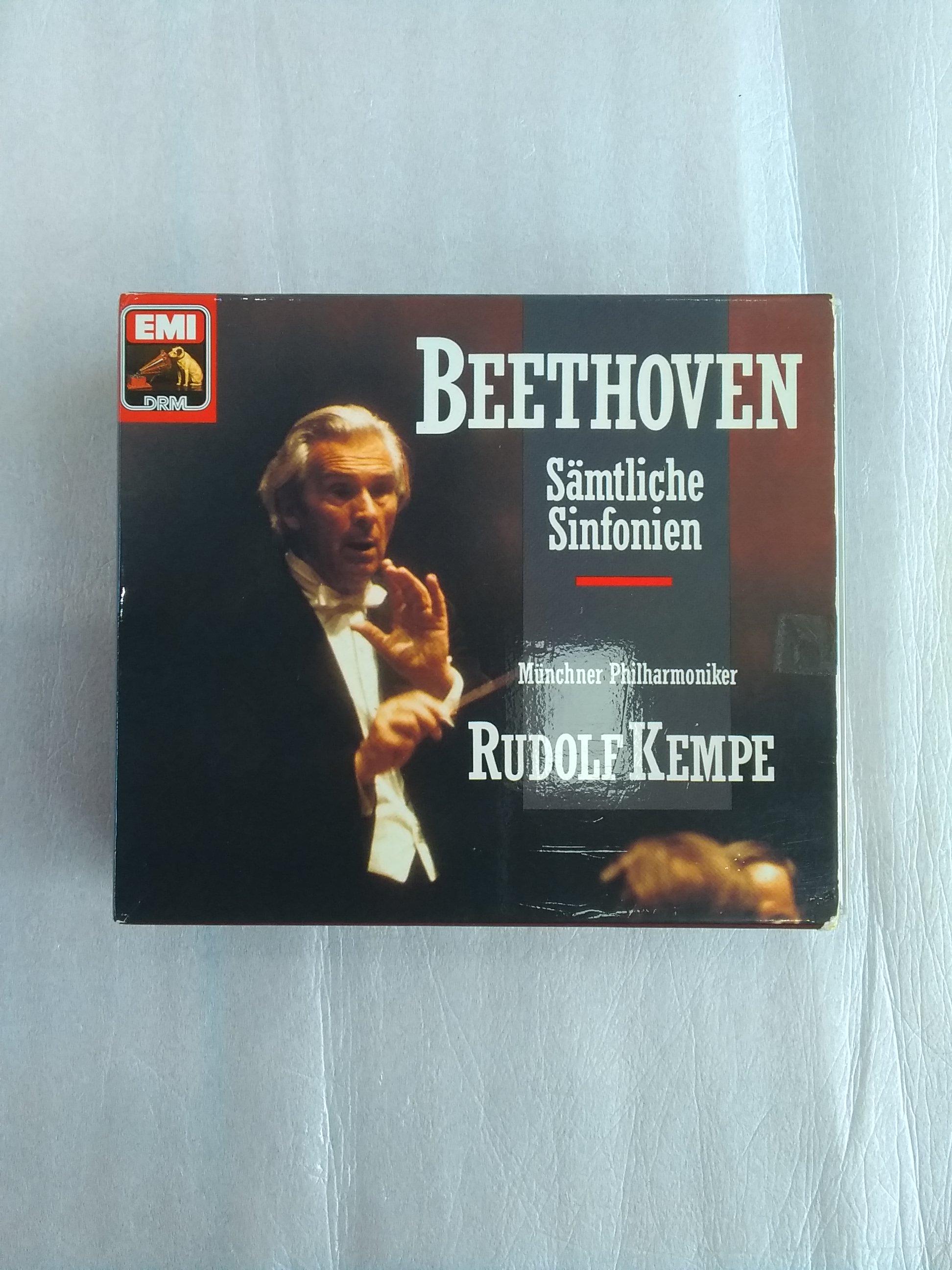 西独盤 ベートーヴェン:交響曲全集 ケンペ&ミュンヘンPO|EMI