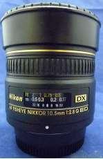 Nikon用円周魚眼レンズ SIGMA