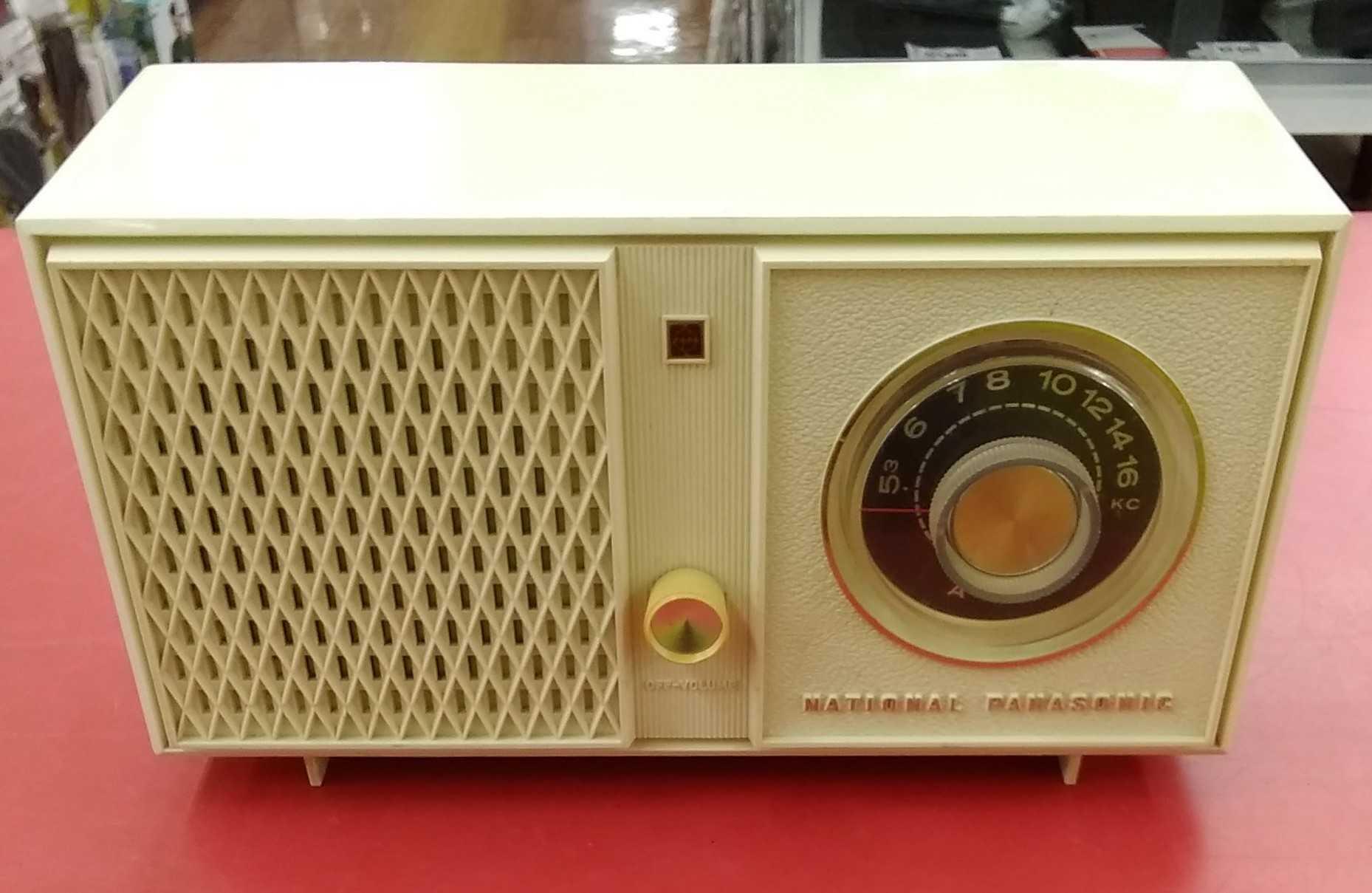 真空管AMラジオ|NATIONAL PANASONIC