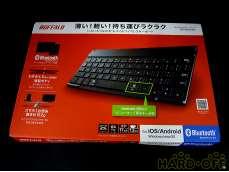 ② 未使用 バッファロー 薄型コンパクトキーボード|BUFFALO