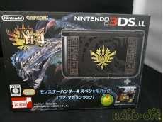 未使用 3DS LL モンスターハンター4スペシャルパック|NINTENDO