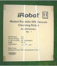 未開封 iRobot 全自動おそうじロボット ルンバ680