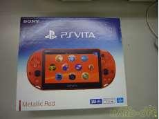 未使用 PS Vita メタリックレッド|SONY