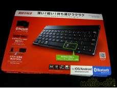 ① 未使用 バッファロー 薄型コンパクトキーボード|BUFFALO