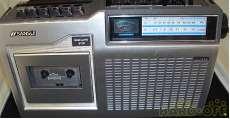 モノラルラジオカセット