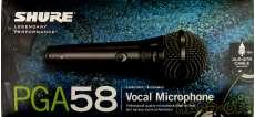 ボーカルマイクロフォン|SHURE