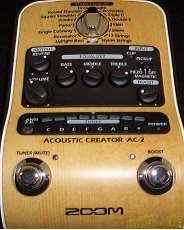 アコースティックギター用プリアンプ