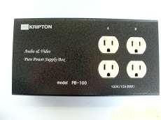 オーディオ用電源タップ KRIPTON