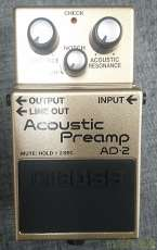 Acoustic Preamp|BOSS