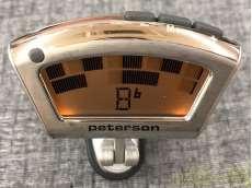 クリップ型ストロボ・チューナー|PETERSON