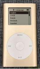 iPod mini 容量:4GB|APPLE