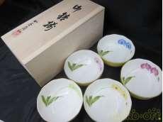 胡蝶蘭・小鉢5個セット|香蘭社