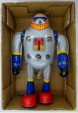 SUPER ROBOT ブリキ ロボット ぜんまい仕掛け|