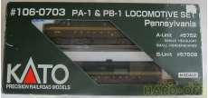 PA-1 & PB-1 LOCOMOTIVE SET ペンシルバニア KATO