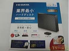 ※未開封品 HDCZ-UT2.0KB / I・O DATA 外付HDD