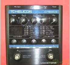 ボーカル用クリエイティブエフェクター TC-HELICON